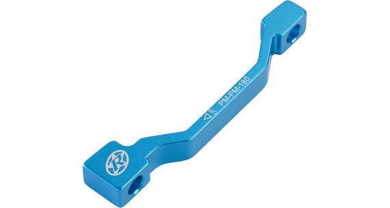 Reverse PM-PM Disc Adapter 180 mm light-blue